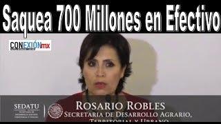 Acusada por desviar más de mil 700 millones de pesos.