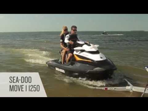 2017 Sea-Doo Move I 1250 Extended Trailer in Speculator, New York - Video 1