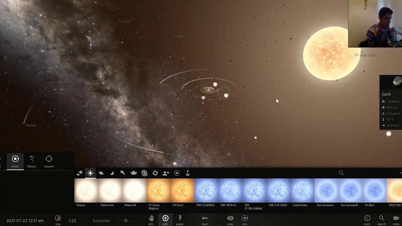 VY Canis Mayoris en el Sistema Solar - #AbrilVideosMil #17