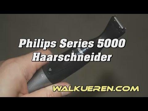 Haartrimmer Philips Series 5000 Anleitung: Gesichtshaarrasierer, Rasierer, Intimrasierer