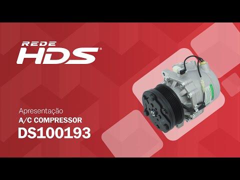 Compressor A/C Chery QQ 1.0 3 Cilindros - Green Parts - DS 100 193