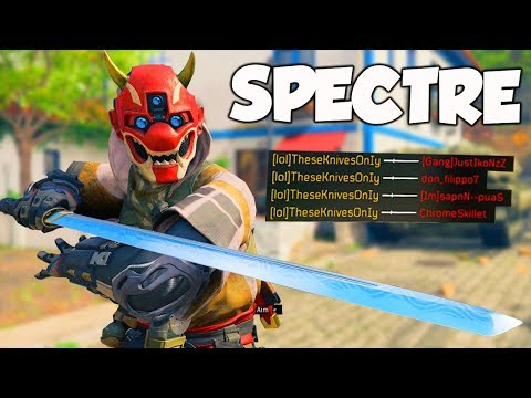 SPECTRE IS BEYOND AMAZING IN BLACK OPS 4!! (New Specialist!)