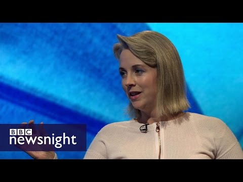 Debating Isabel Oakeshott on BBC Newsnight (2015)