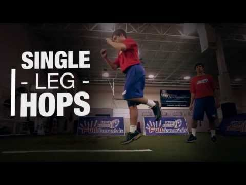 Strength and Conditioning : Single Leg Hops