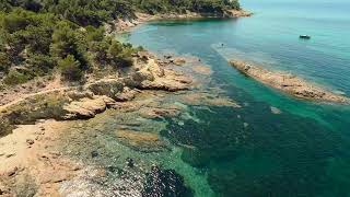 Cap Lardier | Presqu'île de Saint Tropez, France | Cinematic FPV