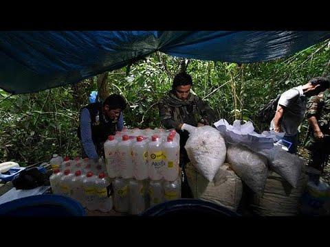 Περού: Κατέσχεσαν 1,5 τόνο κοκαϊνης