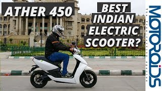 Ather 450 Electric Scooter Review | Tech Laden and Smart - Is it the Best We Have?