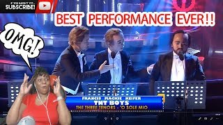 YFSFK 2018  TNT Boys as The Three Tenors | 'O Sole Mio | REACTION