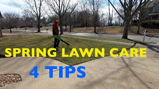 SPRING Lawn Care - What to do First?
