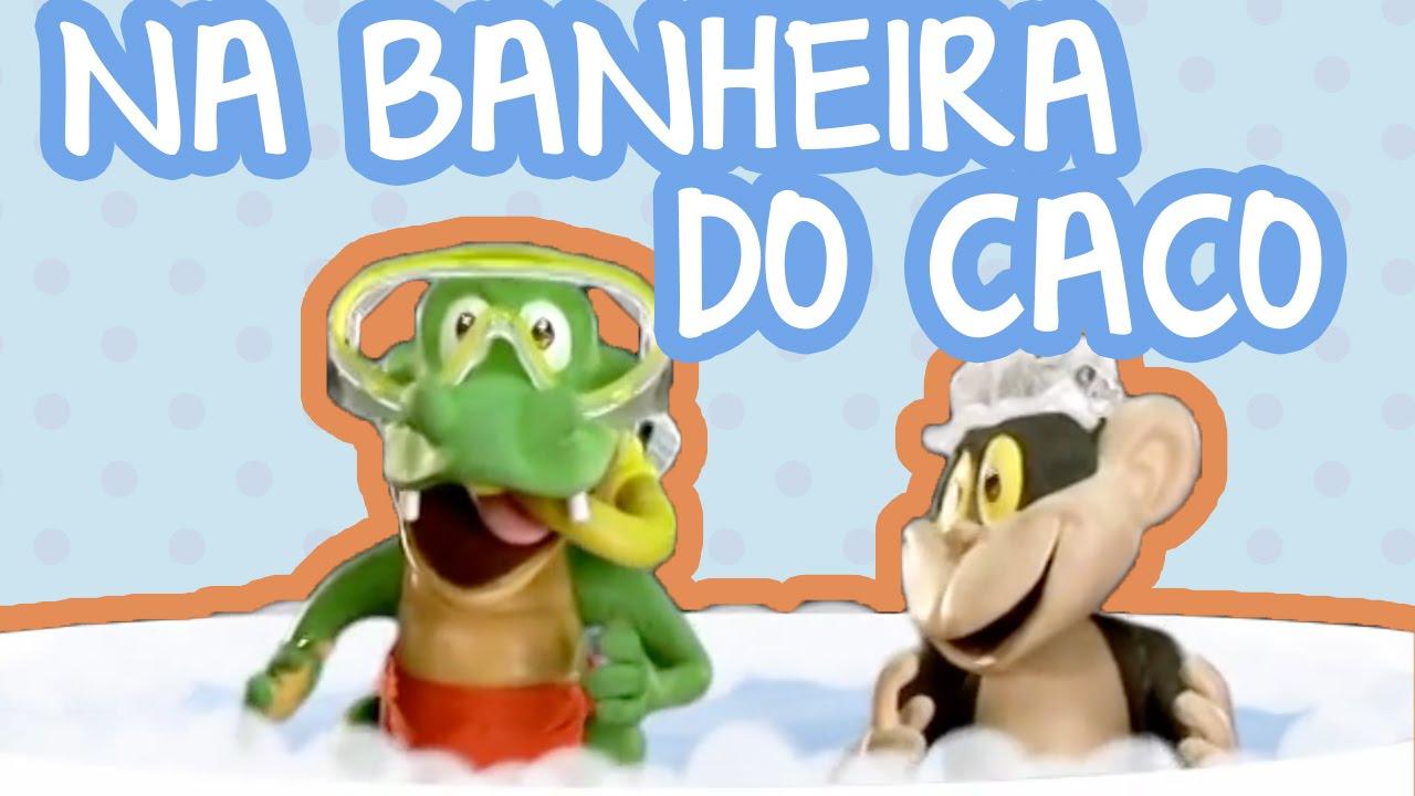 NA BANHEIRA DO CACO | BEBÊ MAIS CASA