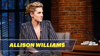 Allison Williams Reveals What White People Ask Her About Get Out