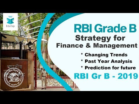 Strategy to score Maximum Marks in Finance Management | RBI Gr B 2019