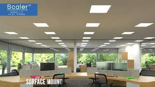 video: Columbia Lighting's Scaler™ Edge-lit Flat Panel