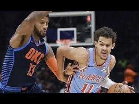 Atlanta Hawks vs Oklahoma City Thunder NBA Full Highlights (16th January 2019)