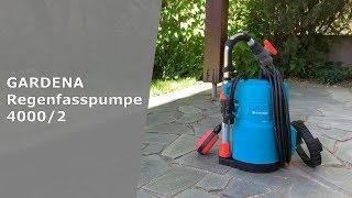 Gardena 4000/2 - Regenfasspumpe im Test [Unboxing, Montage, Leistung] | Haus & Garten mit Mr. Sea
