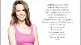 Bridgit Mendler - Turn Up The Music (LYRICS)