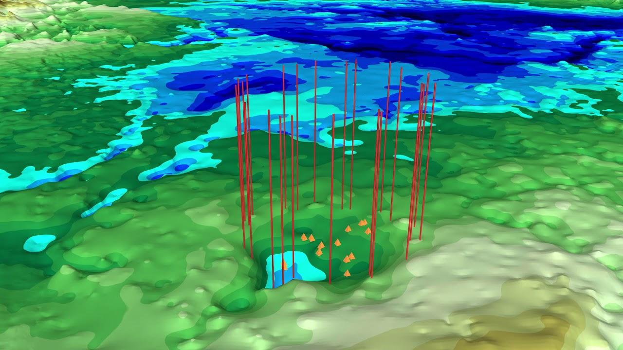 Подо льдом Гренландии нашли огромный кратер: сколько их всего?