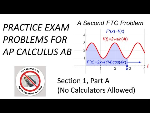 AP Calculus AB Exam Review: Practice Exam Problems & Solutions ...