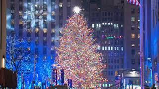Video: Rockefeller Center Christmas tree lighting