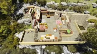 Fallingwater 3D House By Frank Lloyd Wright