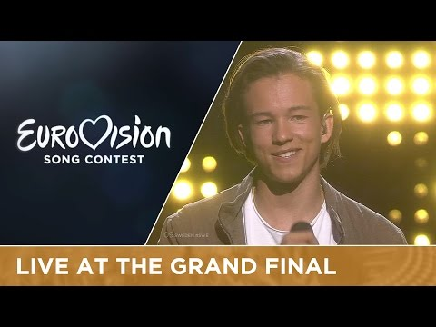 LIVE - Frans - If I Were Sorry (Sweden) at the Grand Final 2016 Eurovision Song Contest