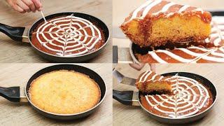 BASBOUSA RECIPE IN FRYPAN l SEMOLINA CAKE l EGGLESS & WITHOUT OVEN