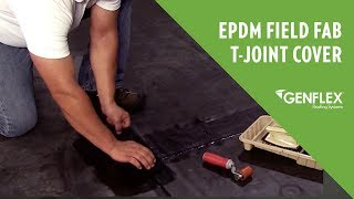 EPDM Field Fab T-Joint Cover