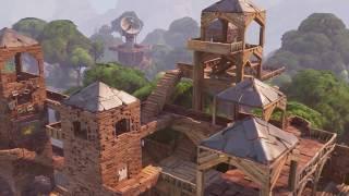 FORTNITE Trailer - Fortnite E3 Gameplay Trailer (New Open World Zombie Game) 2017