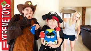 Sneak Attack Squad Halloween Tricks!! Ethan, Cole & Prankbro vs. Aunt Jenna in Prank Spooktacular!