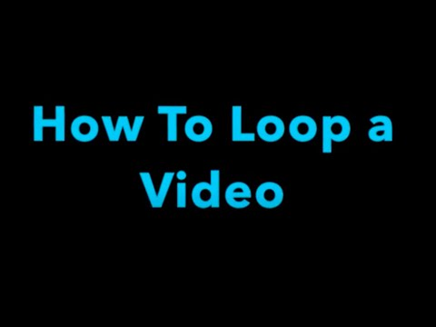 How To Loop a Video (When Presenting) on a Mac