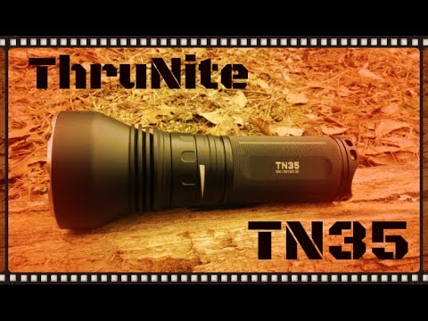 ThruNite TN35 2,750 Lumen Flashlight Review (HD)