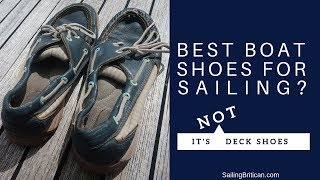 Best Boat Shoes For The Tropics