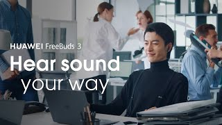 YouTube Video 2ALYGkxCB3Q for Product Huawei FreeBuds 3 Headphones by Company Huawei Technologies in Industry Headphones