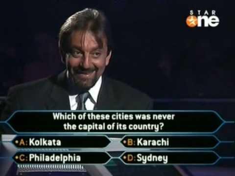 Sanjay Dutt in old KBC part 4/4