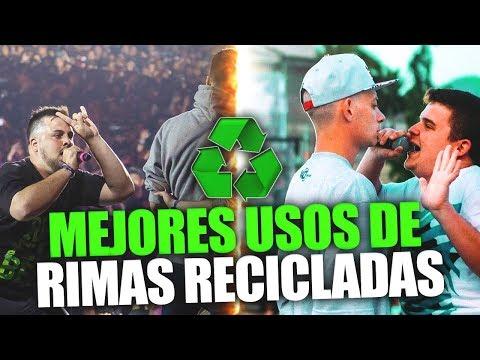 MEJORES USO DE LAS RIMAS RECICLADAS!!
