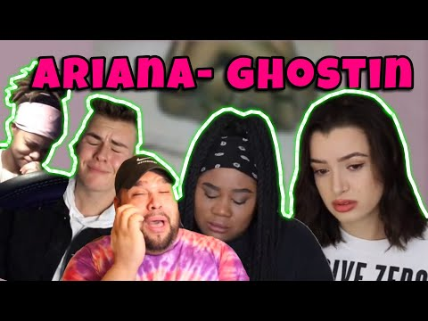 Youtubers Crying To Ariana Grande Ghostin For 1 Minute Straight 😢