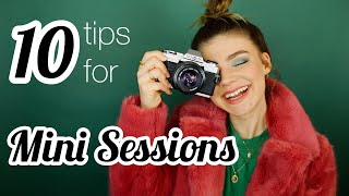 10 Tips For Mini Sessions | Pricing Guide, Booking Clients, How To Advertise