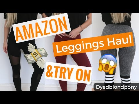Günstige Fitness Leggings HAUL & TRY ON I Amazon I FAIL ?!