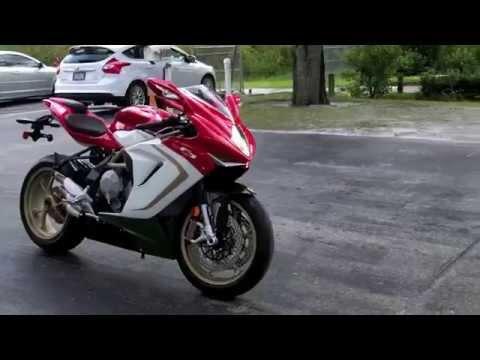 2015 MV Agusta F3 800 AGO Walkaround Video at Euro Cycles of Tampa Bay