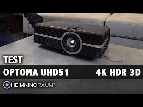 TEST: OPTOMA UHD51 4K UltraHD HDR 3D Beamer mit Christian Obermayer