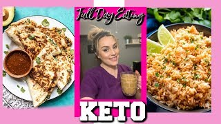 KETO WHAT I EAT IN A DAY 2019 / WHAT YOU CAN EAT ON KETO / DANIELA DIARIES