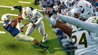 OVER 20 TACKLES & HUGE HITS vs NOTRE DAME! NCAA 14 Road to Glory Gameplay Ep. 44