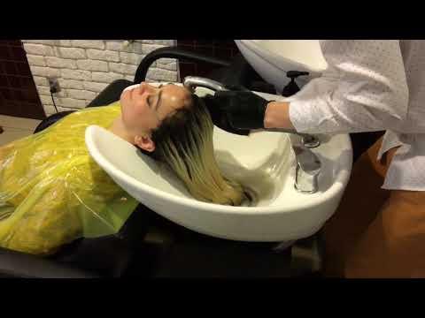 Niż do płukania włosów przed wypadaniem włosów i pękania