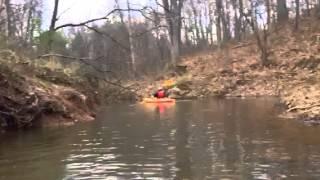 Kayaking Rivanna River
