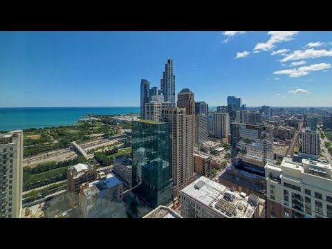 A South Loop 2-bedroom D4 / 05 at the amenity-rich 1001 South State