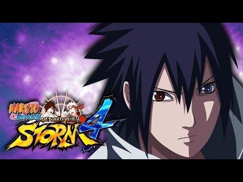 Sasuke Uses DEMON WIND SHURIKEN Attack -- Naruto STORM 4 Moveset Mod