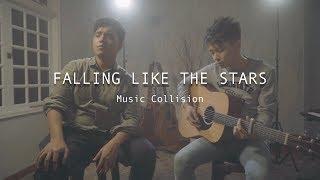 JAMES ARTHUR   FALLING LIKE THE STARS [Music Collision Cover] Feat. Amirul
