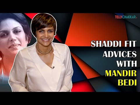Mandira Bedi gives advices to couples to get 'Shaddi Fit' | Exclusive | TellyChakkar