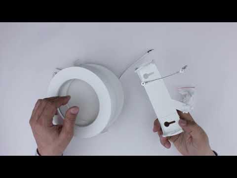 16W LED Einbauleuchte Slim Rund CCT Farbwechsel Dimmbar IP44