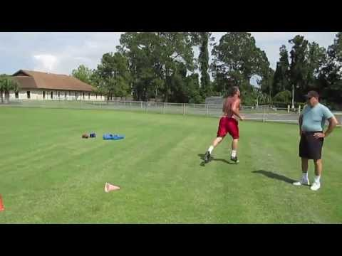 Matt Hanson Football Training Video with Darrell Pasquale (S.A.S.)Speed,Agility,Sport Specific